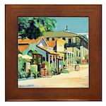 2754 Calhoun Street Framed Tile