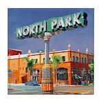 North Park Tile Coaster