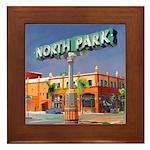 North Park Framed Tile