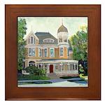 Americana by RD Riccoboni Framed Tile