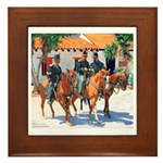 California Soldiers Framed Tile