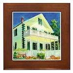 Historic San Diego Framed Tile