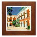 Casa Grande Framed Tile