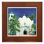 Church - Old Town San Diego Framed Tile