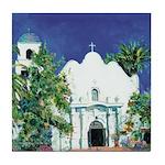 Church - Old Town San Diego Tile Coaster
