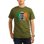 Irish Stout Organic Men's T-Shirt (dark)