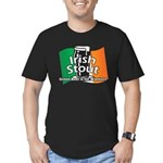 Irish Stout Men's Fitted T-Shirt (dark)