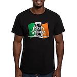 Irish Stout Men's Fitted T-Shirt (dark)