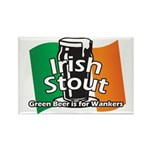 Irish Stout Rectangle Magnet