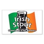 Irish Stout Sticker (Rectangle)