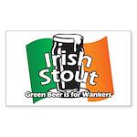Irish Stout Sticker (Rectangle)