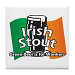 Irish Stout Tile Coaster