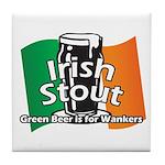 Irish Stout Tile Coaster
