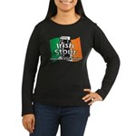 Irish Stout Women's Long Sleeve Dark T-Shirt