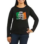 Irish Stout Women's Long Sleeve Dark T-Shirt