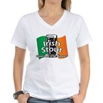Irish Stout Women's V-Neck T-Shirt