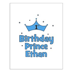 1st Birthday Prince ETHAN! Posters