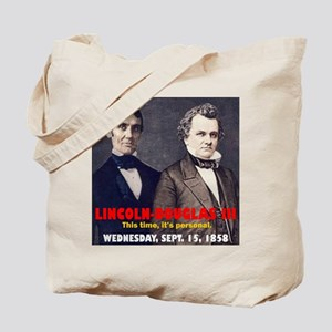 Lincoln-Douglas Debate Tote Bag