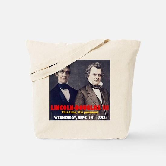 Lincoln-Douglas Debate Tote Bag