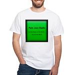 Pure Jazz Radio White T-Shirt