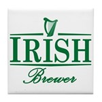 Irish Brewer Tile Coaster