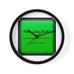 Pure Jazz Radio Wall Clock