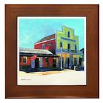 Old Town San Diego Framed Tile