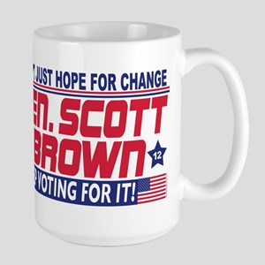 Scott Brown 2012 Hope Large Mug