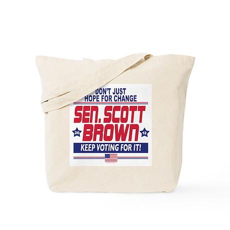 Scott Brown 2012 Hope Tote Bag