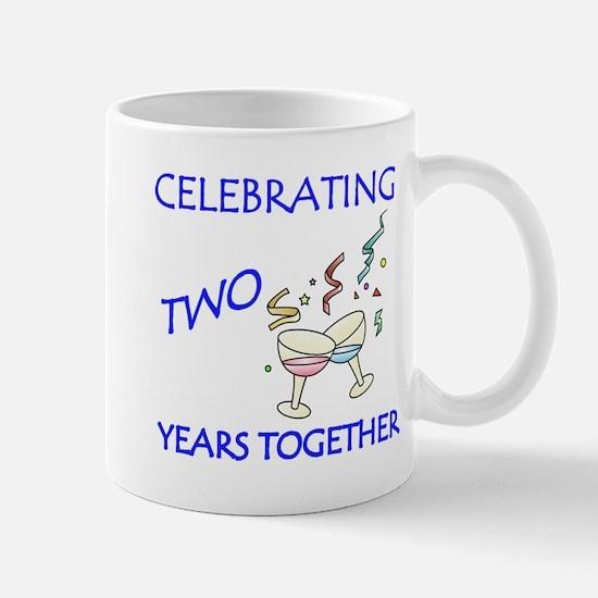 ANNIVERSARY TOAST 2 Mugs