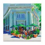 Sidewalk Cafe Coronado Tile Coaster