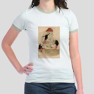 Pas De Substitution Jr. Ringer T-Shirt
