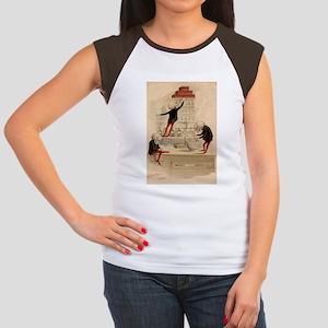 Pas De Substitution Women's Cap Sleeve T-Shirt