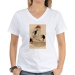 Pas De Substitution Women's V-Neck T-Shirt