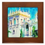 Sun Palace by Riccoboni Framed Tile