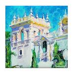 Sun Palace by Riccoboni Tile Coaster