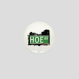 Hoe Av, Bronx, NYC Mini Button