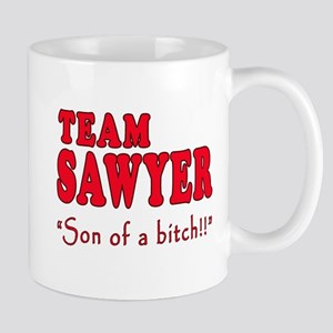 TEAM SAWYER with SOB Mug