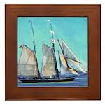 Californian - San Diego Framed Tile