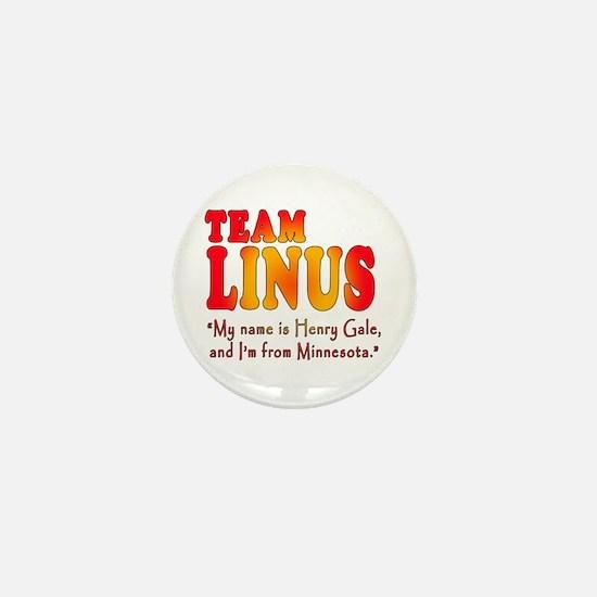 TEAM LINUS with Ben Linus Quote Mini Button