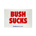 """Bush Sucks"" Rectangle Magnet (100)"