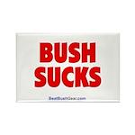 """Bush Sucks"" Rectangle Magnet (10)"