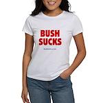 """Bush Sucks"" Women's T-Shirt"