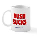 """""""Bush Sucks"""" Mug"""