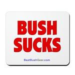"""Bush Sucks"" Mousepad"