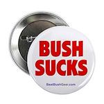 """Bush Sucks"" Button"