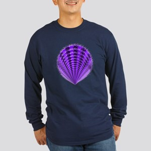 PurpleFan Long Sleeve Dark T-Shirt