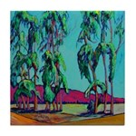 Ventura Eucalyptus Trees Tile Coaster