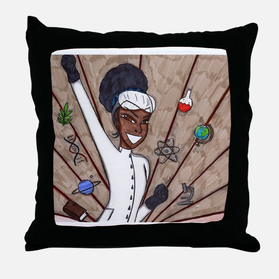 Win with Science Throw Pillow