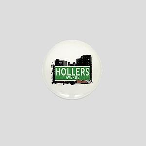 Hollers Av, Bronx, NYC Mini Button